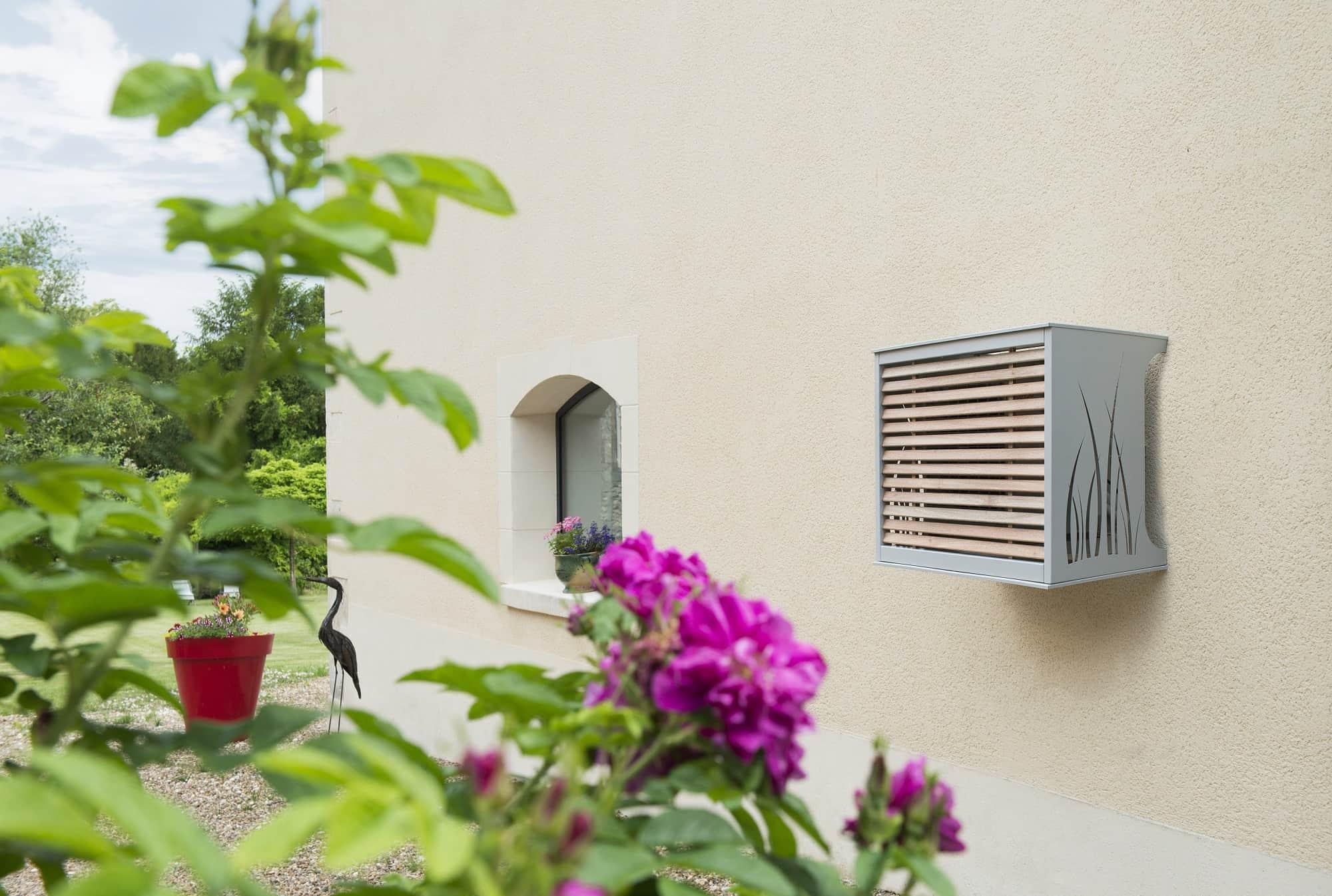 cache pompe chaleur groupe aluminium t. Black Bedroom Furniture Sets. Home Design Ideas