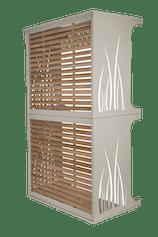 cache pompe chaleur superposable cache climatisation air3d. Black Bedroom Furniture Sets. Home Design Ideas