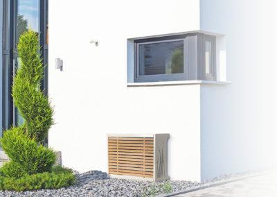 Cache climatisation extérieure