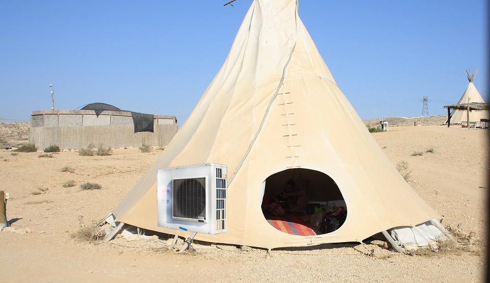 Partir en camping avec la climatisation, le confort des baroudeurs