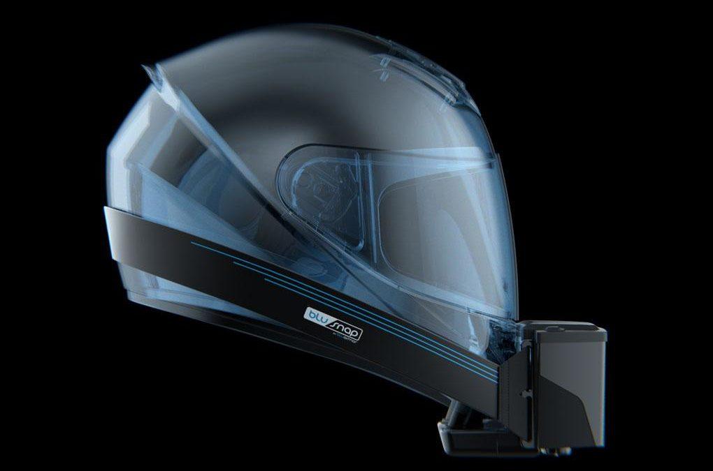 Pour cet été, que diriez-vous d'un casque de moto climatisé ?