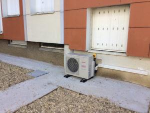 pompe à chaleur collective