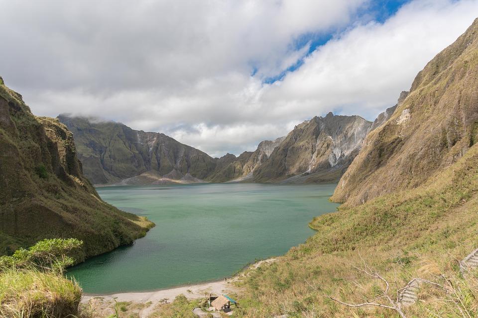 cratère du volcan Pinatubo