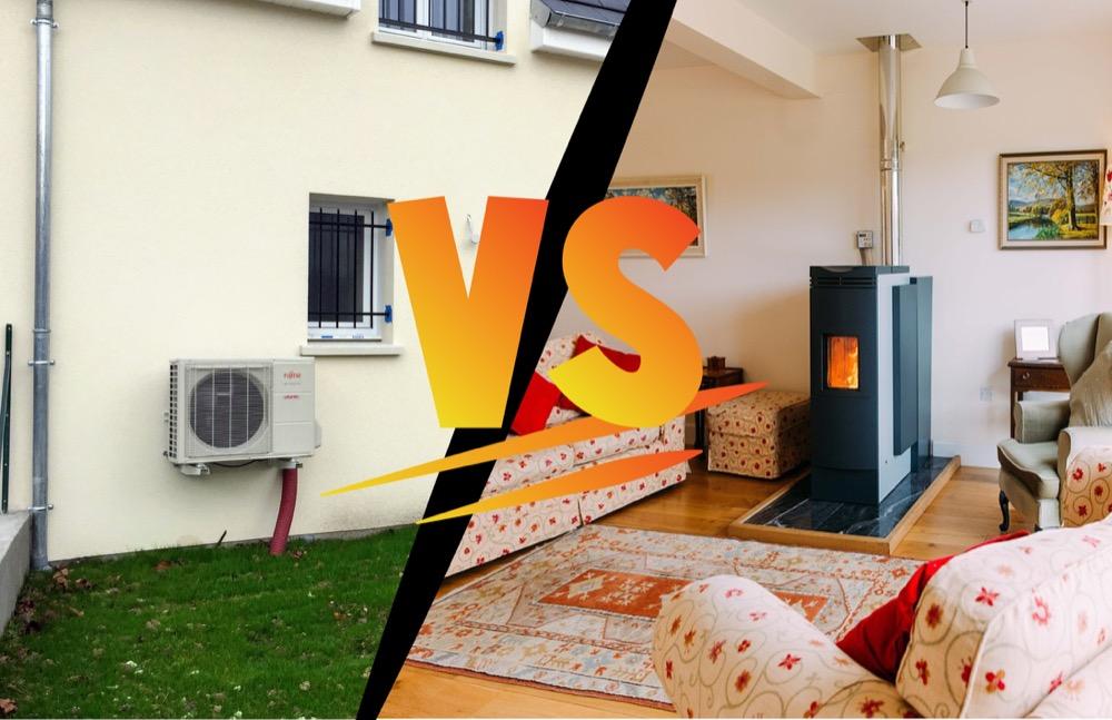 Pompe à chaleur ou poêle à bois : que choisir ?