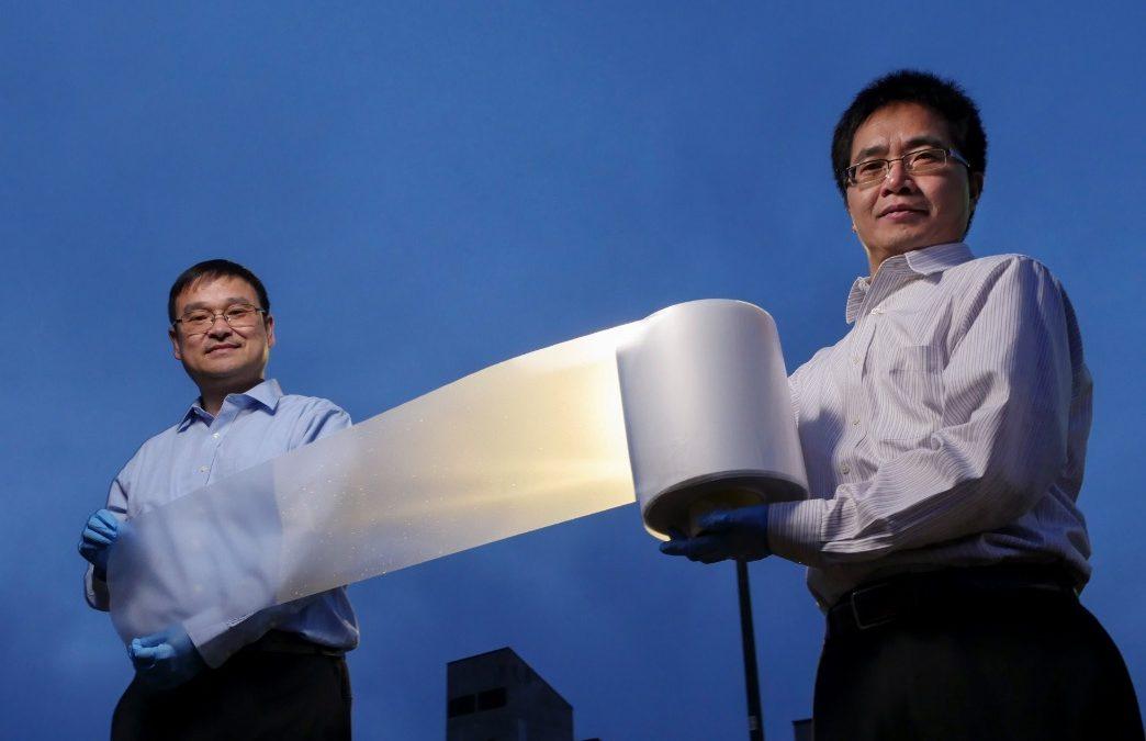Un film plastique révolutionnaire permet d'économiser 30% de climatisation