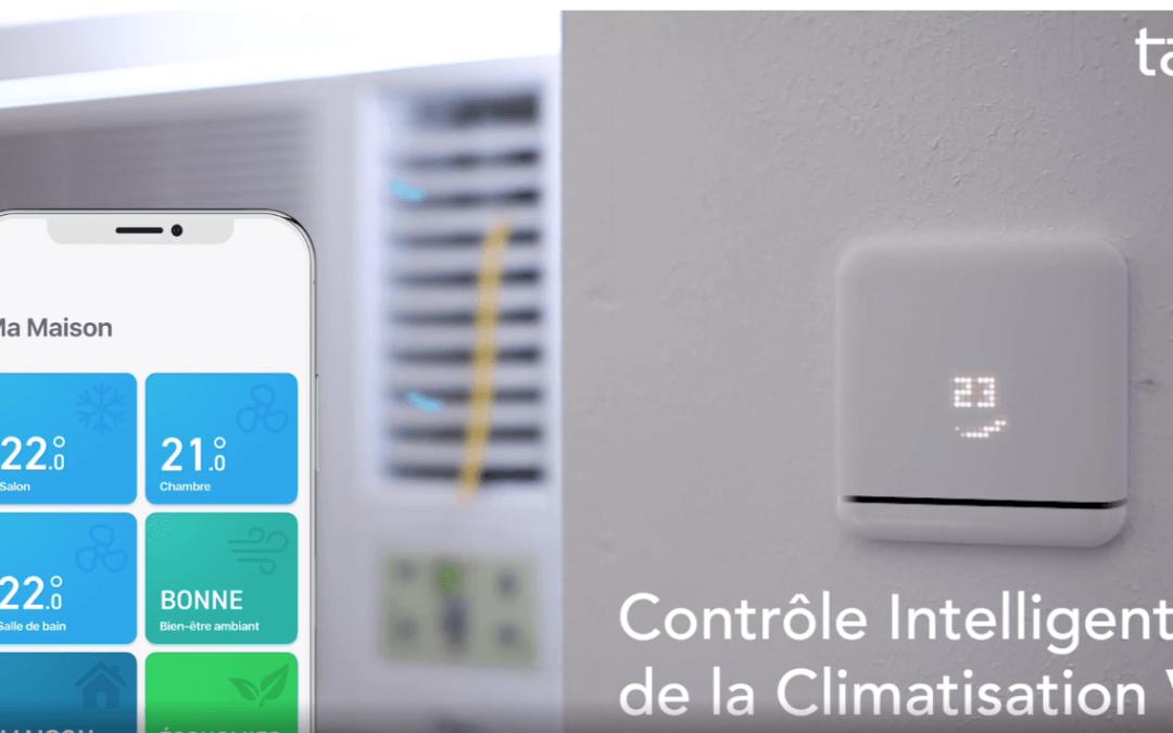 Tado lance la V3 de son contrôle intelligent de climatisation