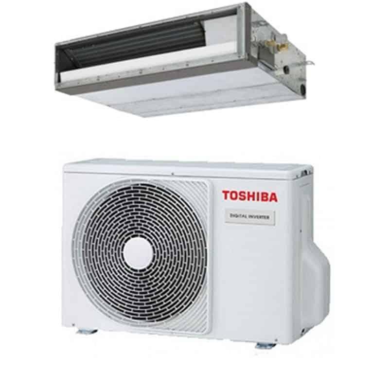 Unité extérieure de climatisation et unité intérieure gainable