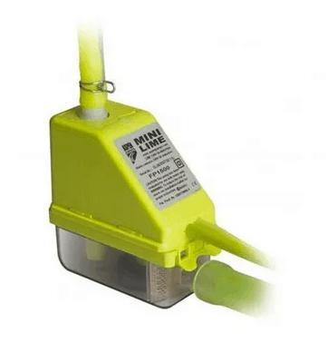 pompe de relevage mini lime Aspen ultra silencieuse verte