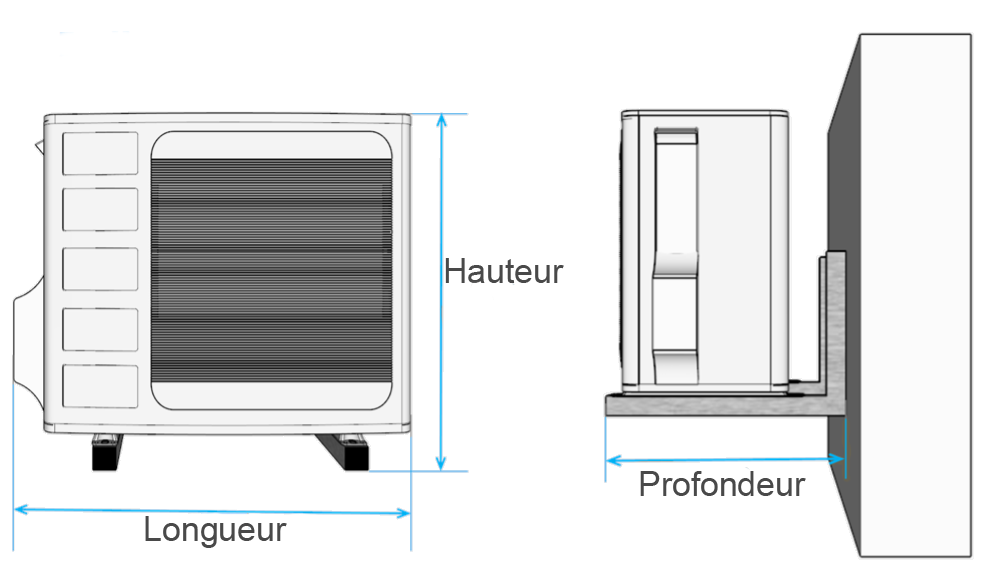 calculateur de dimensions AIR3D
